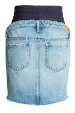MAMA Short denim skirt - Light denim blue - Ladies | H&M CN 3